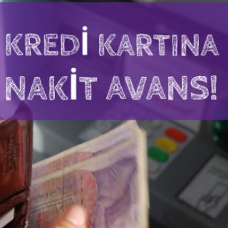 Kredi Kartından Nakit Avans Çekmek Kredi Kartları